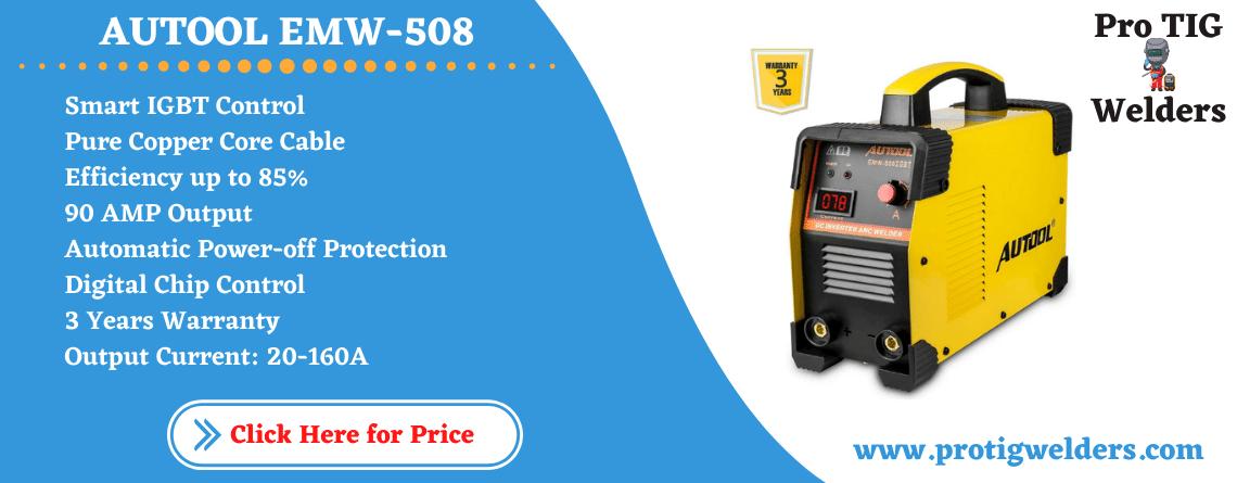 AUTOOL EMW-508 ARC-200 DC Inverter Welder