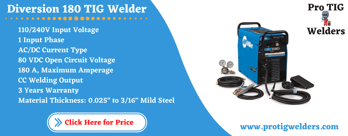 Miller Diversion 180 TIG Welder