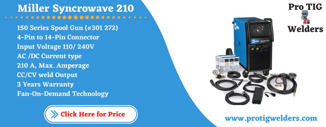 Syncrowave 210 TIG MIG Spoolmat 150 Package