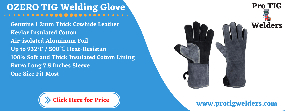 932°F Leather Heat Resistant Welding Gloves
